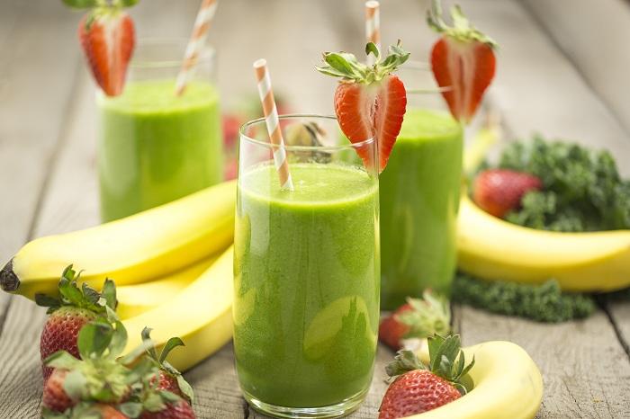 letnie bluda zelenyi koktel